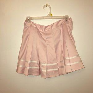 Dresses & Skirts - pink pleated skirt